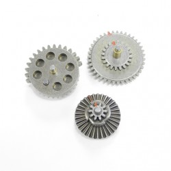Economic Ver Standard Torque Flat Steel Gear Set 18:1 (3 Sets Value Pack)