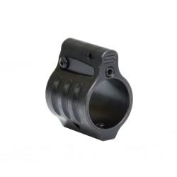 "SLR Dummy Gas Block 0.75"" for Airsoft ( Melonite QPQ Black / Silver )"